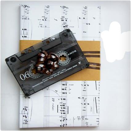Cassette Tape Gift Topper