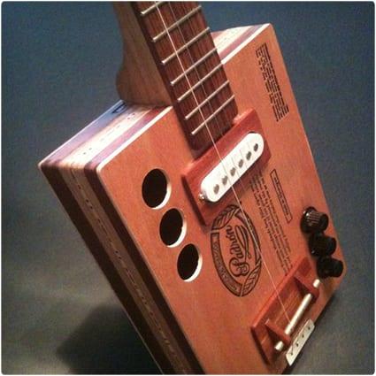 Custom Made Cigar Box Guitar
