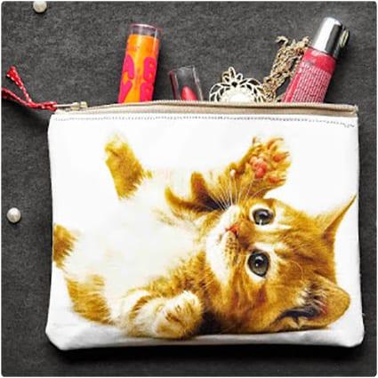 DIY Cat Photo Pouch