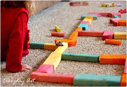 DIY Colorful Block Set