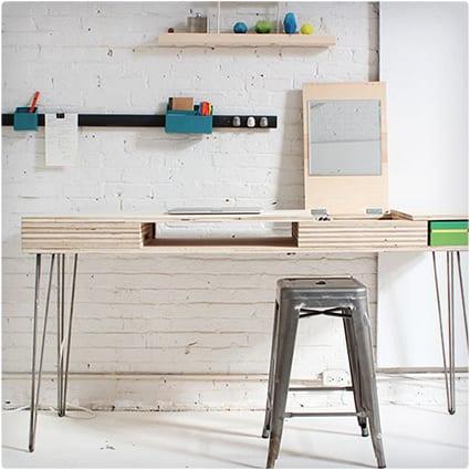 DIY Flip Desk