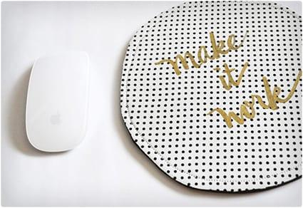 DIY Modern Mousepad