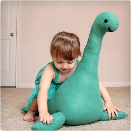 DIY Nessie Stuffed Animal