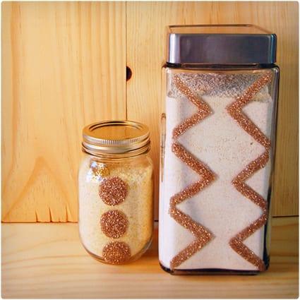 Decorative Kitchen Storage Jars