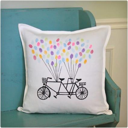Fingerprint Balloon Pillow