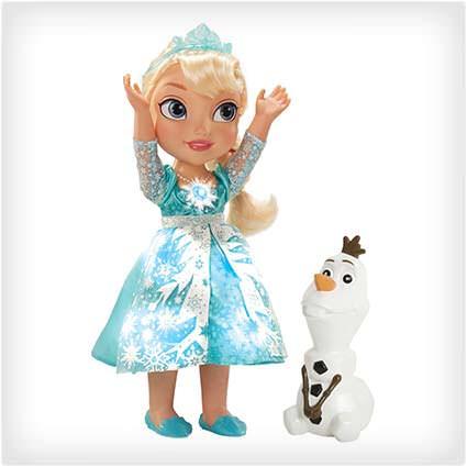 Frozen Snow Glow Elsa Singing Doll