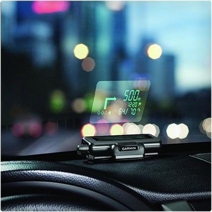 GPS Windshield Projector