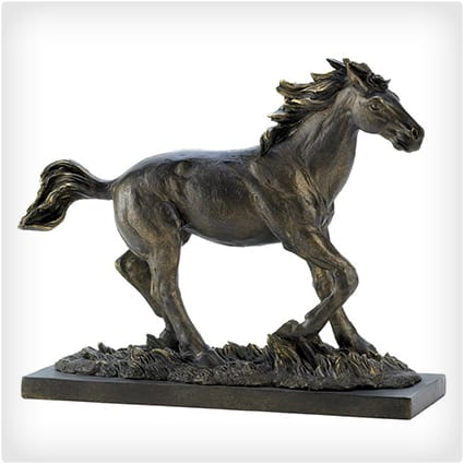 Galloping Horse Figure Statue