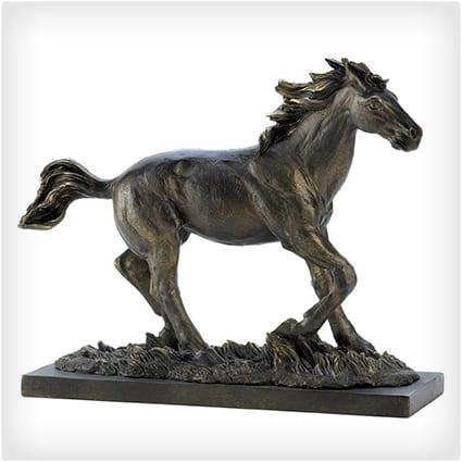 Galloping Horse Figure Statue