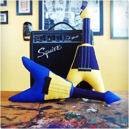 Guitar Plushie