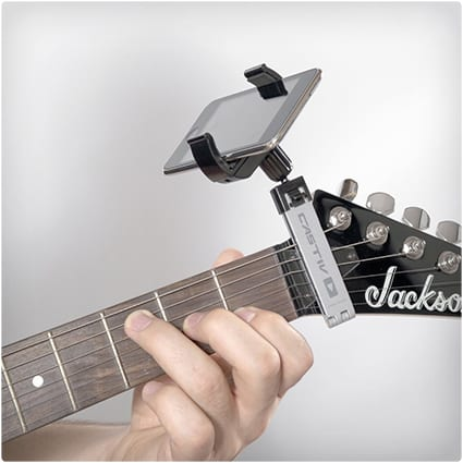 Guitar Smartphone Holder