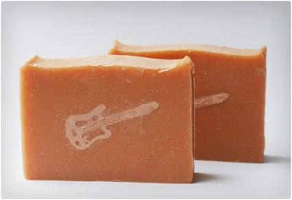 Handmade Electric Guitar Soap