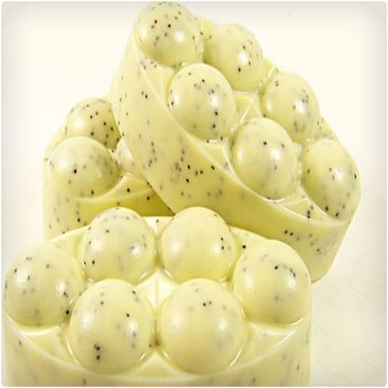 Handmade Lemon Poppyseed Kitchen Soap