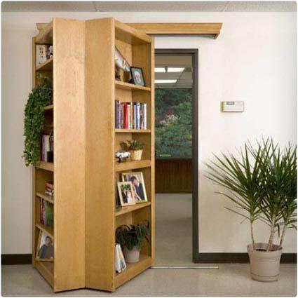 Hidden Room Bookcase