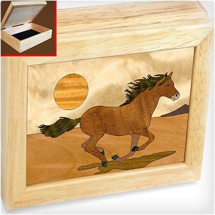 Horse Jewelry Box