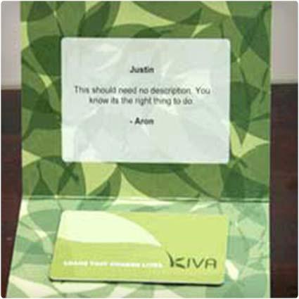 Kiva Card