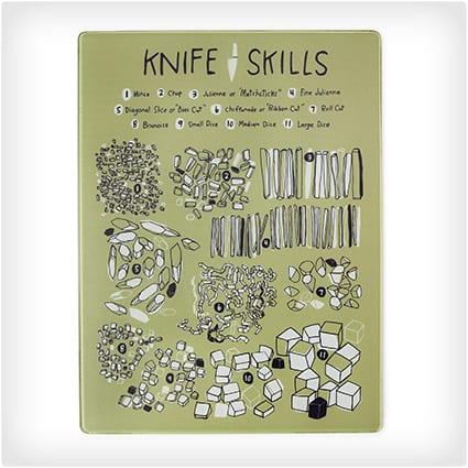 Knife Skills Cutting Board