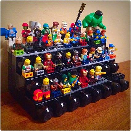 Lego Mini Figure Stand