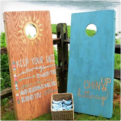 Make Them a Cornhole Board
