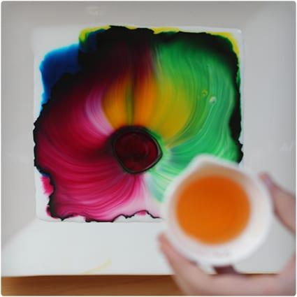 Milk Art Experiment