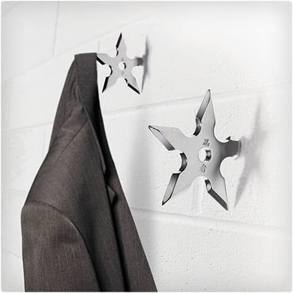 Ninja Stars Coat Hangers