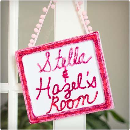 Personalized Bedroom Decor