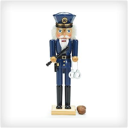 Police Officer Nutcracker