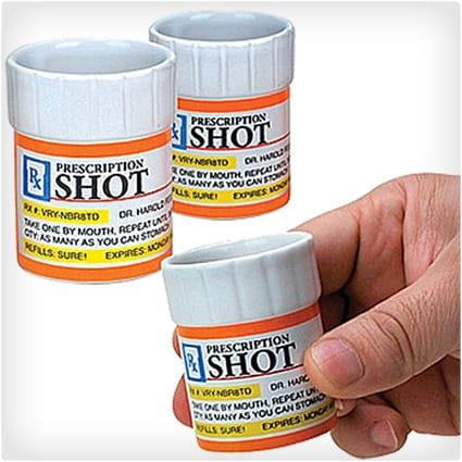 Prescription Shot Glasses
