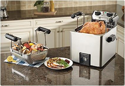 Professional Rotisserie Turkey Fryer