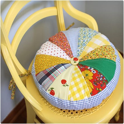 Quilted Chair Cushion