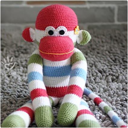 Sock Monkey Amigurumi