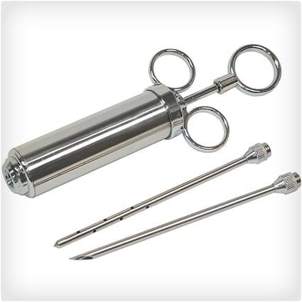 Stainless-Steel Seasoning Injectors