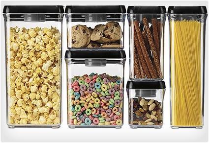 Vacuum-Seal Food Storage System