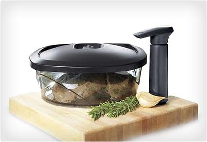 Vacuum Sealed Meat Marinator