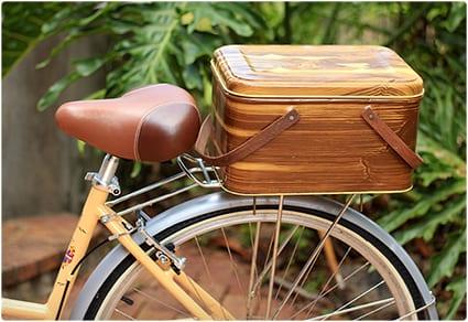 Vintage Bike Basket