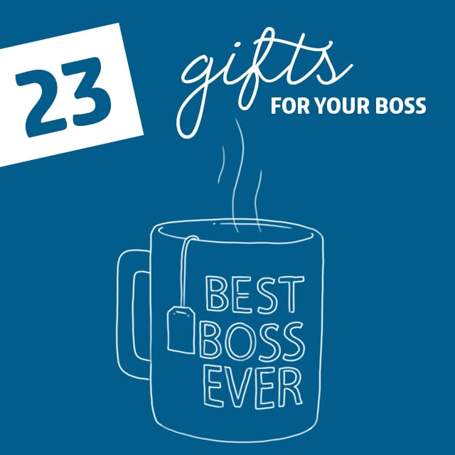 23 appropriate gifts for your boss so you can suck up to them without getting