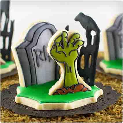 3D Zombie Cookies