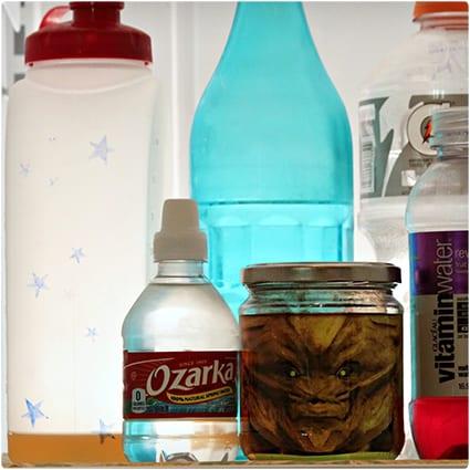 Alien Head in a Jar