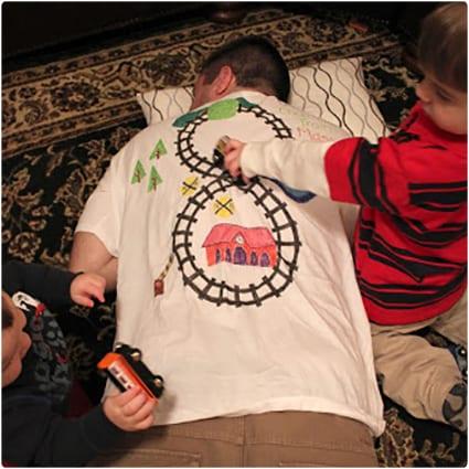Choo Choo Train Massage T-Shirt