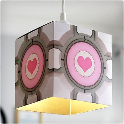 Companion Cube Pendant Lamp