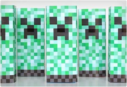 Creeper Juice Box Sleeve