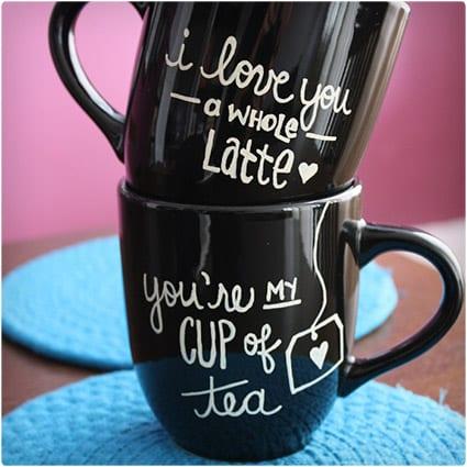 Cute Sharpie Mugs