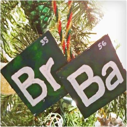DIY Breaking Bad Christmas Ornament