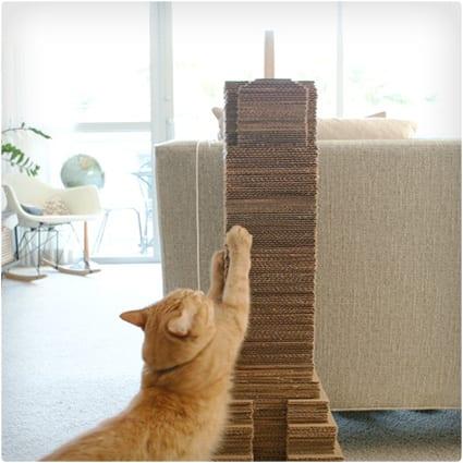 DIY Catscraper