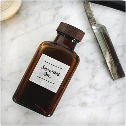 DIY Shave Oil
