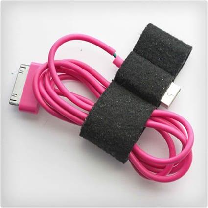 Data Cable Organizer Keychain