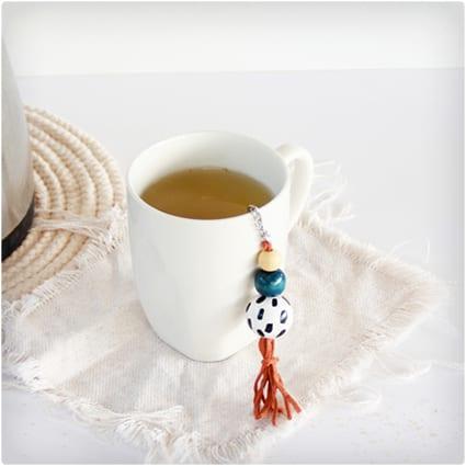 Decorated Tea Strainer