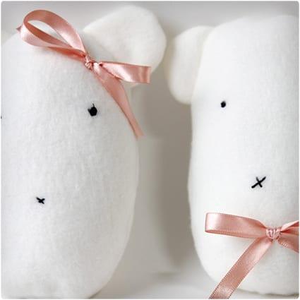 Fleece Bear Stuffies