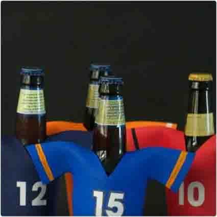Football Jersey Koozies