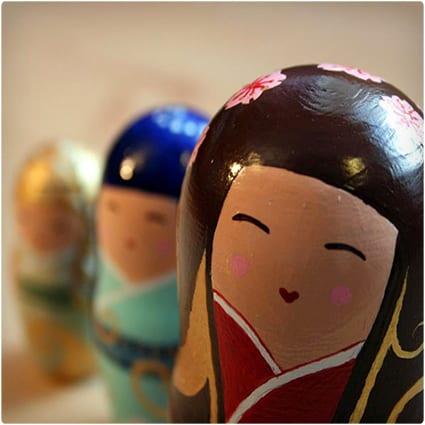 Handmade Russian Dolls